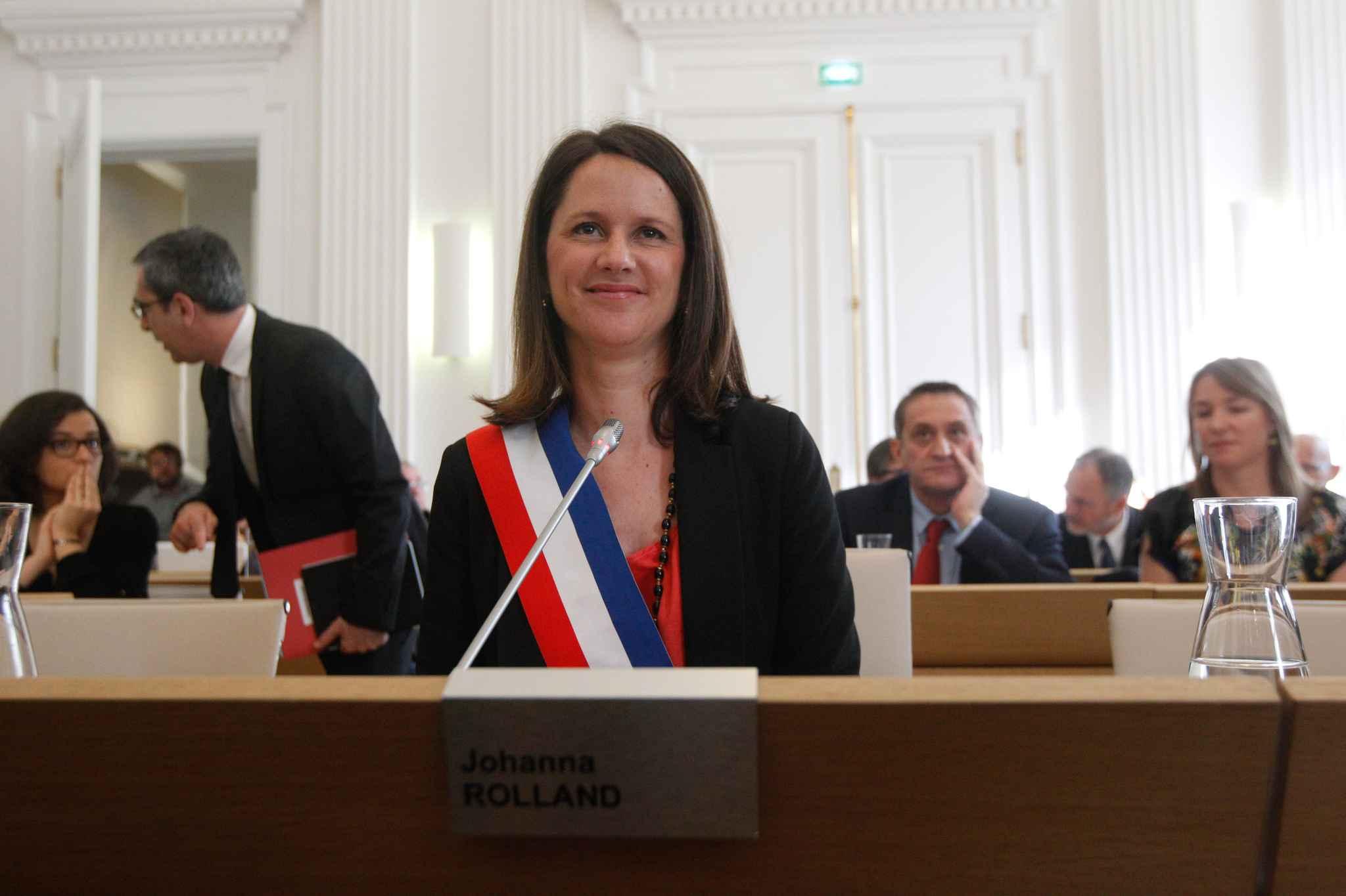 """Résultat de recherche d'images pour """"Johanna Rolland , Maire de Nantes"""""""