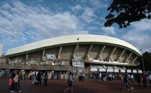 Le parvis du stade de la Beaujoire.