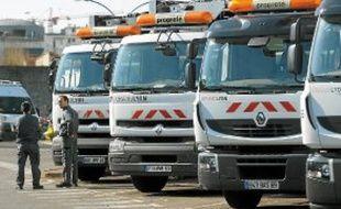Au dépôt de Gerland, les éboueurs ont voté majoritairement la grève.