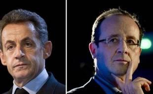 Le premier sondage de l'année sur la présidentielle faisant état d'un resserrement des intentions de vote entre Nicolas Sarkozy et François Hollande a ravi dimanche l'UMP, tandis qu'au PS on s'employait à le relativiser.