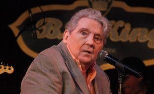La légende du rock'n'roll Jerry Lee Lewis en concert au BB King Blues Club & Grill de New York en 2014