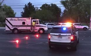 (Image d'illustration) La police de Las Vegas.