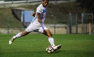 Boubacar Kamara, joueur de l'OM (CFA)
