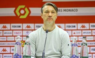 Le coach de l'AS Monaco Niko Kovac, le 7 mai 2021