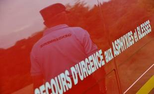 Un camion des services de secours et incendie. (illustration)