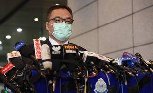 Arrestations de masse contre l'opposition à Hong Kong.