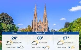Météo Strasbourg: Prévisions du samedi 20 juillet 2019