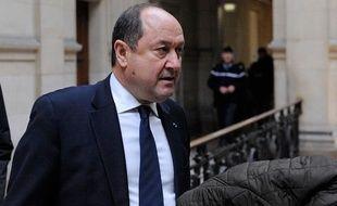 Bernard Squarcini, ex-patron de la DCRI, au tribunal de Paris, le 18 février 2014.