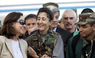 Ingrid Betancourt lors de sa libération en 2008. (archives)