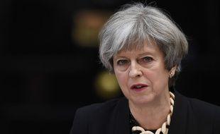 Theresa May s'exprime le 4 juin 2017 après les attaques à Londres.