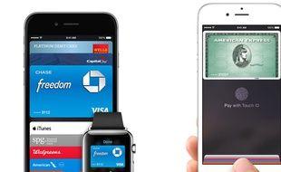 Le système de paiement sans contact Apple Pay sera d'abord lancé aux Etats-Unis.