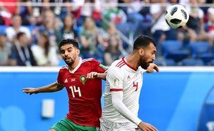 Face aux lions de l'Atlas, l'Iran tient bon.
