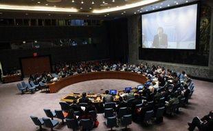 Le Conseil de sécurité de l'Onu réuni le 22 juillet 2014 à New York