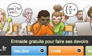 Le site devoirs.fr a été lancé le lundi 27 avril 2009.