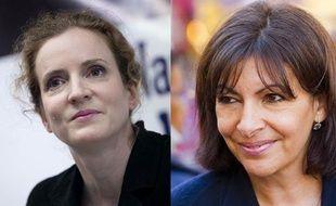 Montage photo: Nathalie Kosciusko-Morizet et Anne Hidalgo en 2013.