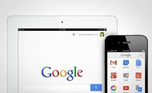 Les services de Google sur iPad et iPhone.