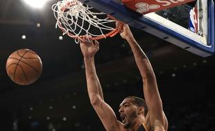 Rudy Gobert face aux Knicks