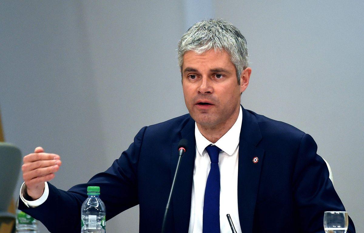 Laurent Wauquiez a annoncé que la Région ne financera pas l'Institut français de civilisation musulmane. – AFP