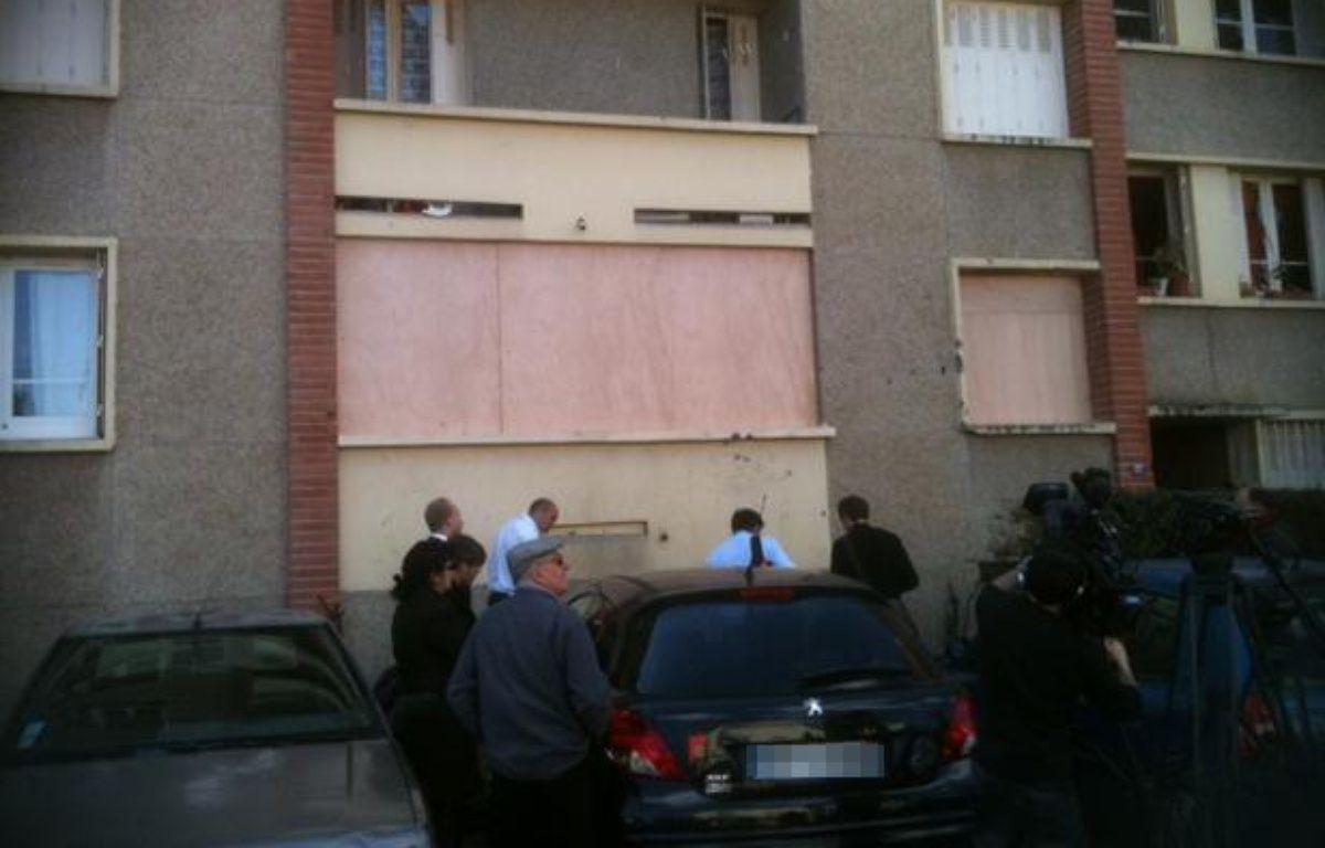 L'immeuble de la rue du Sergent-Vigné à Toulouse, où Mohamed Merah a été abattu le 22 mars 2012. – Béatrice Colin/20 Minutes