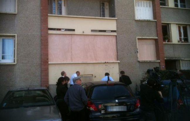 L'immeuble de la rue du Sergent-Vigné à Toulouse, où Mohamed Merah a été abattu le 22 mars 2012.