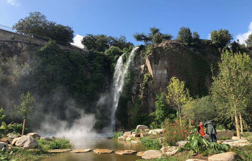 Nantes : Comment fonctionne la cascade géante du Jardin extraordinaire