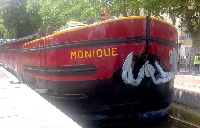 Toulouse: Une péniche heurte les portes d'une écluse, la circulation interrompue sur le canal du Midi