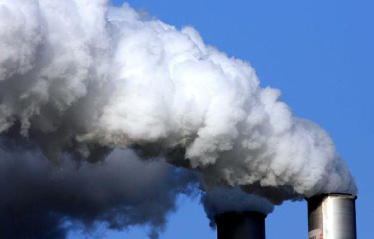 Pollution industrielle: illustration. – CLOSON/ISOPIX/SIPA
