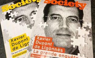 Une de Society consacrées à l'affaire Dupont de Ligonnès.
