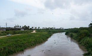 La vue du Rio Grande près de l'endroit où l'homme et sa petite fille ont été retrouvés, le 26 juin 2019.