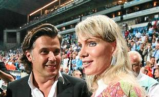 Vincent Labrune et Margarita Louis-Dreyfus.