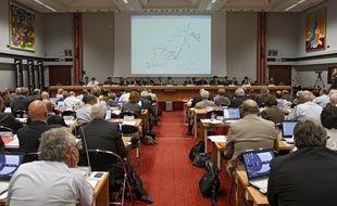 La salle du conseil de la Métropole européenne de Lille (illustration).