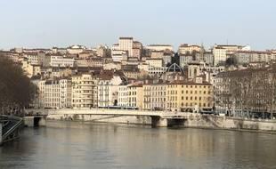 Vue de Lyon, le 3 février 2020.