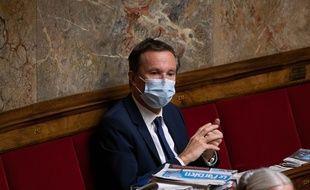 Nicolas Dupont-Aignan, à l'Assemblée nationale le 3 novembre 2020.