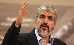 Le chef du Hamas Khaled Mechaal, le 28 août 2014.