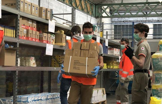 Coronavirus à Lyon: «Sans les associations, ces personnes mourraient de faim», comment les bénévoles s'activent auprès des plus démunis