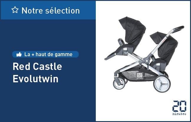 La poussette Evolutwin de Red Castle.