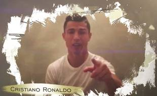 Cristiano Ronaldo dans le clip de la dernière chanson de Julio Iglesias, le 20 octobre 2015.