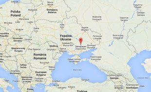 Un incident a eu lieu dans la centrale nucléaire de Zaporijia, en Ukraine, le 3 décembre 2014.