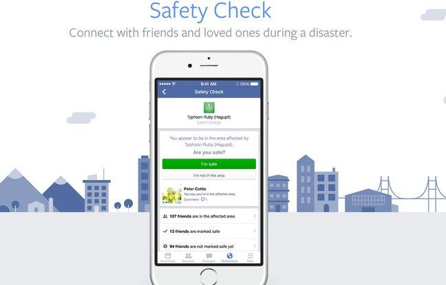 Attentat Facebook: Attentat à Nice: Facebook Active Son «Safety Check»