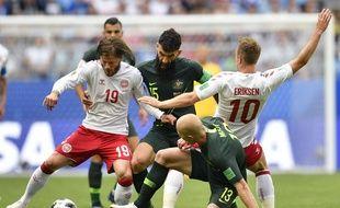 Australie-Danemark, le 21 juin 2018.