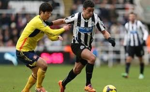 L'attaquant français de Newcastle Hatem ben Arfa en février 2014.