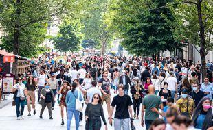 Le centre-ville de Lyon, le 17 juillet 2021.