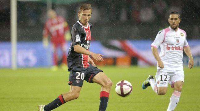 Clément Chantôme, le 6 août 2011, au Parc des Princes, contre Lorient. – A.PIERRE/SIPA