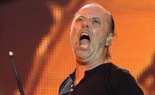 Lars Ulrich du groupe Metallica