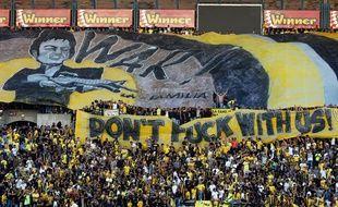 Les supporters du Beitar Jerusalem ont encore marqué les esprits la semaine passée, lors du match aller, avec une banderole guerrière inspirée par le film «Scarface».