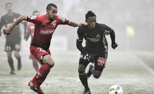 Le match Dijon-Marseille (Ligue 1), le 10 décembre 2016.