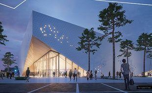 Le projet d'Arena à Poitiers, verra le jour à l'entrée du Futuroscope