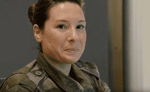 Le sergent Coralie est spécialiste du renseignement.