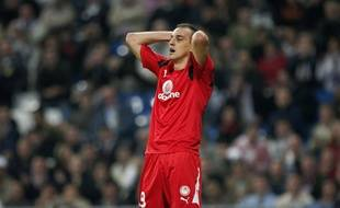 L'ancien international serbe Darko Kovacevic, ici en 2007 quand il jouait à l'Olympiakos.
