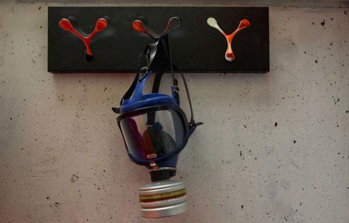 Un masque à gaz – A.GELEBART/20MINUTES